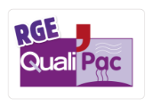 logo certification QUALIPAC Reconnu garant environnement