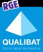 Logo certification QUALIBAT RGE